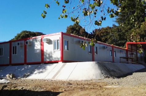Edificio modular Urgencia Villarrica Conquil