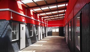 Escuela Modular Egon Keutmann Huiscapi conquil