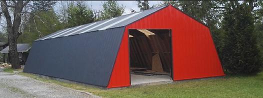Galpon taller garage madera