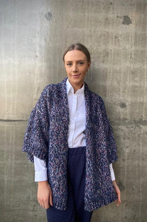 Kimono mescla tecido em máquina