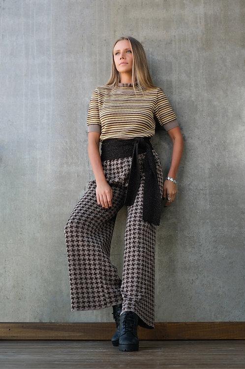 Pantalona xadrez - BEGE