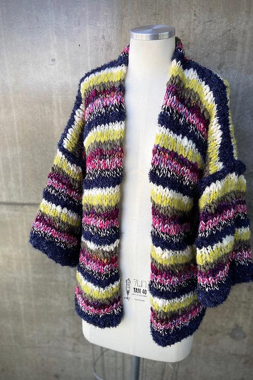 Kimono Handmade Listrado: Marina1