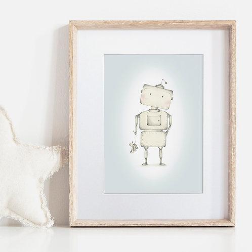 FRAMED or UNFRAMED --- Frederik the Robot