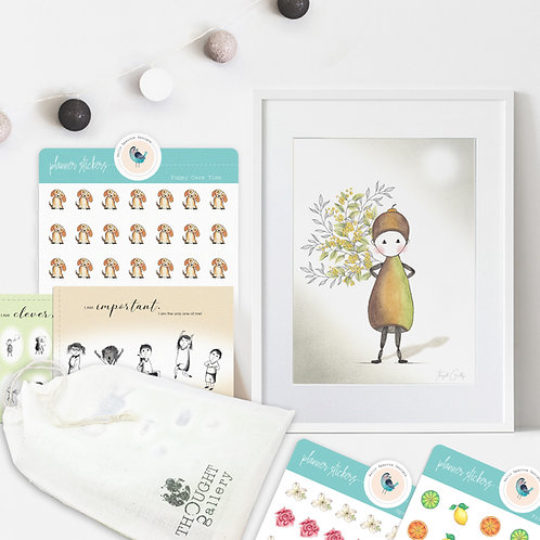 ANNIE --- Hand Crafted Gift Pack