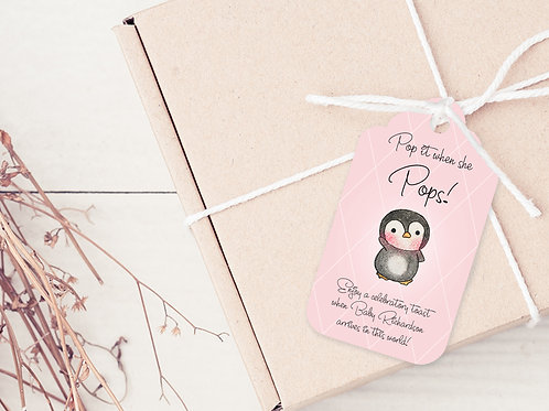 PERSONALISED GIFT TAGS --- Baby Shower Thank you's