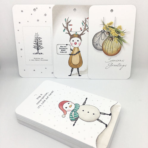 'ASSORTED DESIGNS' - Gift Tags & Greeting Card Bundles