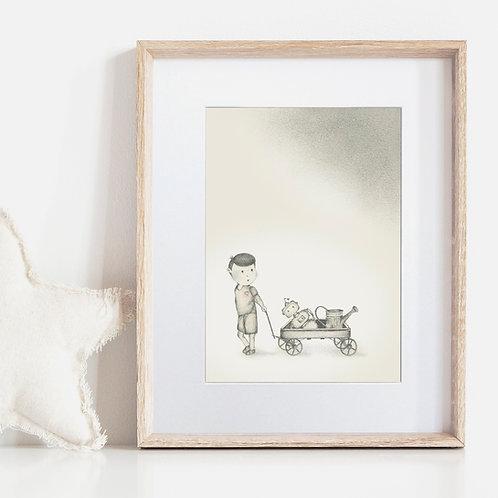 FRAMED or UNFRAMED --- Boy meets Robot II
