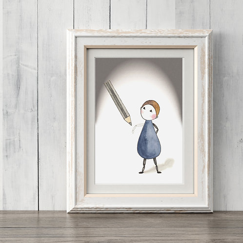 'WHO AM I?' - Annie Artwork