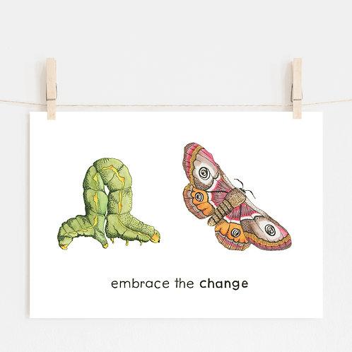 'BUTTERFLY INSPIRE' - Educational Artwork