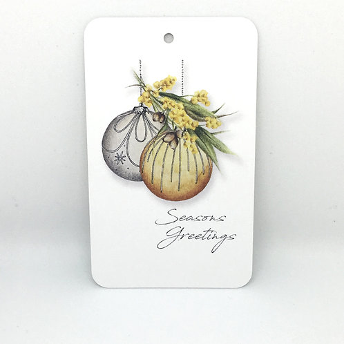 'AUSTRALIANA BAUBLES' - Gift Tags & Greeting Cards