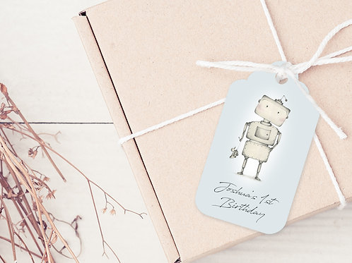 PERSONALISED GIFT TAGS --- Birthday Boy!