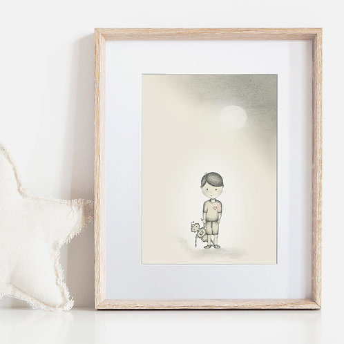 FRAMED or UNFRAMED --- Boy meets Robot I