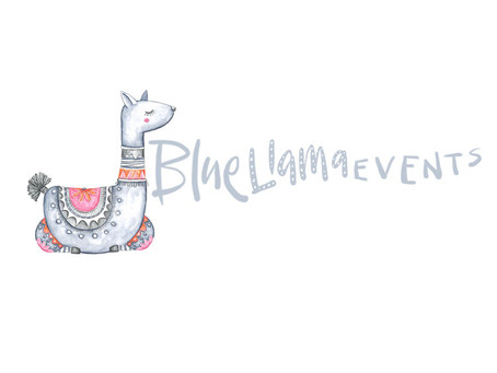 The Blue Llama Events Brand