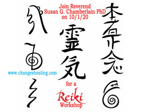 Register for Our Reiki Workshop on 10/1/2020