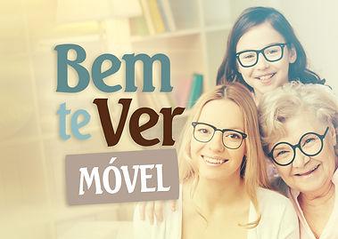 BemTeVerMÓVEL é um serviço de atendimento domiciliar oftalmológico