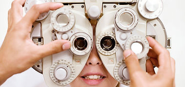Exame oftalmológico infantil