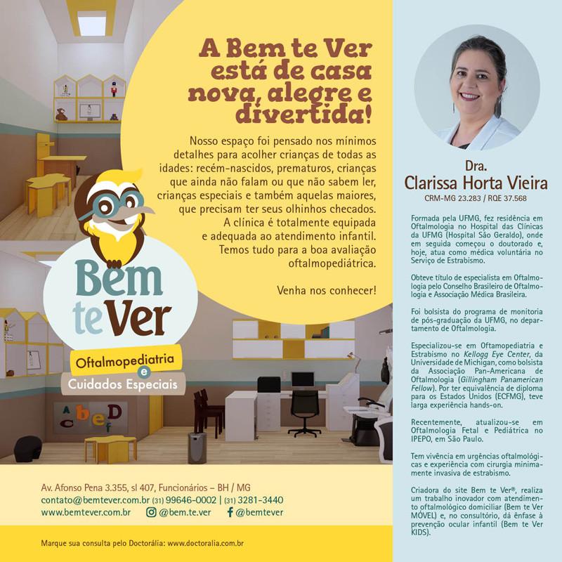 Dra Clarissa Horta Vieira Oftalmopediatria e Estrabismo