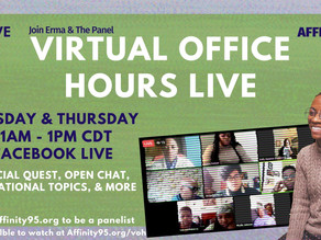 Virtual Office Hours CANCELED - June 23rd