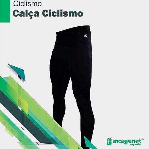 Calça Ciclismo JET Power Coolmax forro, zíper nas pernas, bolso lateral