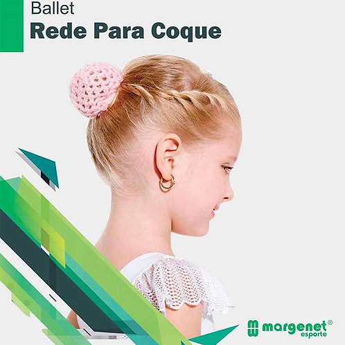 Rede p/ Coque Bt Outfit Infantil Bodytech - Rosa