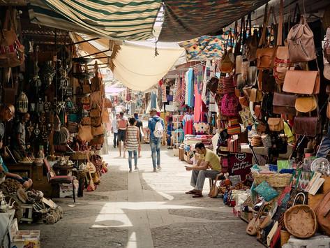 Dentro al suk di Marrakech