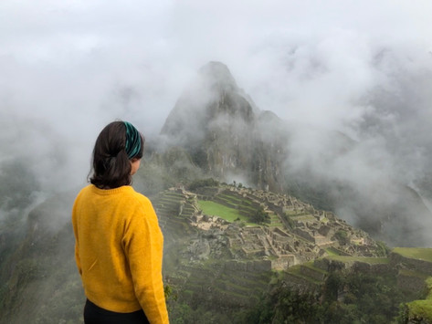 L'arrivo a Machu Picchu, meraviglia del mondo