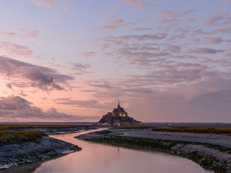 Lo spettacolo di Mont Saint-Michel