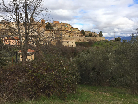 #viaggidipancia: da Giorgione a Montefalco