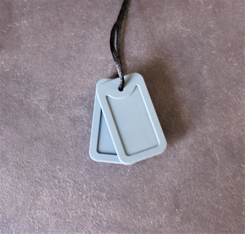 Grey Dog Tags