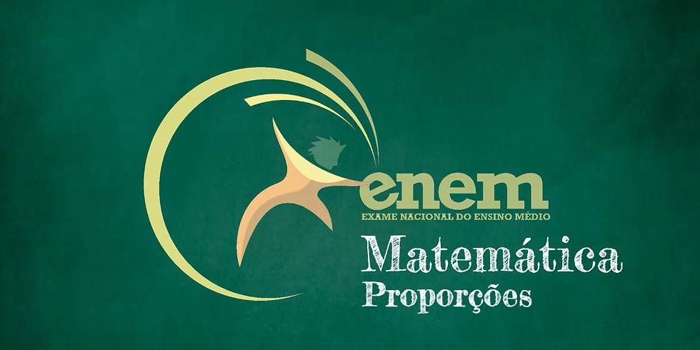 Como Resolver Questões de Proporções do ENEM