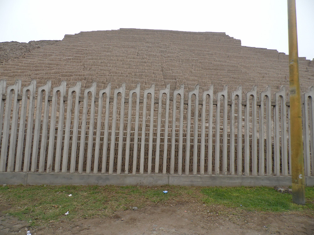Huaca Pucllana, Ceremonial Center, Lima, Peru
