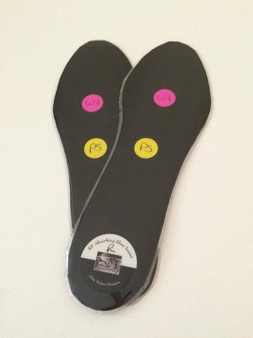 """Prescription Strength"" RF Absorbing Shoe Insert"