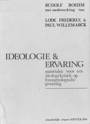 Boehm - Ideologie en ervaring (1984)-1.p