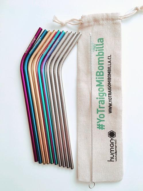 Pack MIX Colores 10 Bombillas
