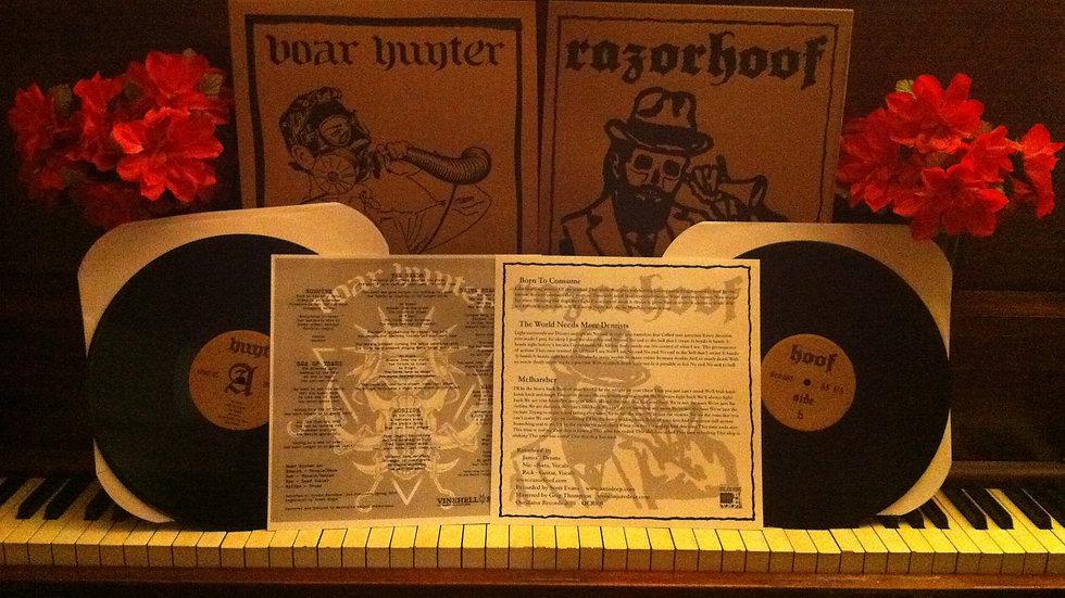 Razorhoof / Boarhunter split LP vinyl