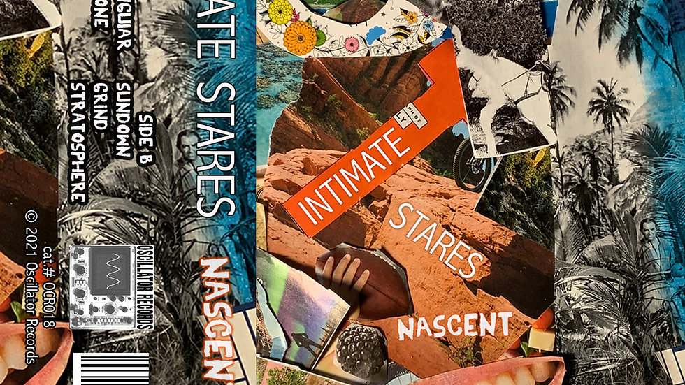 """Intimate Stares - """"Nascent"""" cassette"""