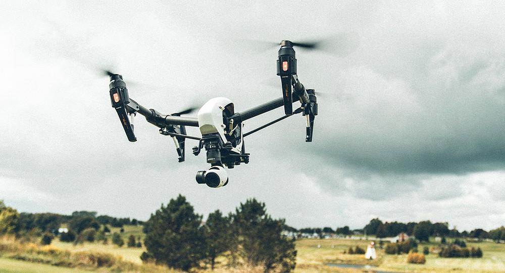 inspection par drone