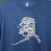 Screen Printed Alaska Shirt