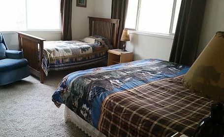 Kenai Lake Escape Bedroom