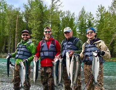 August Fishing on the Kenai