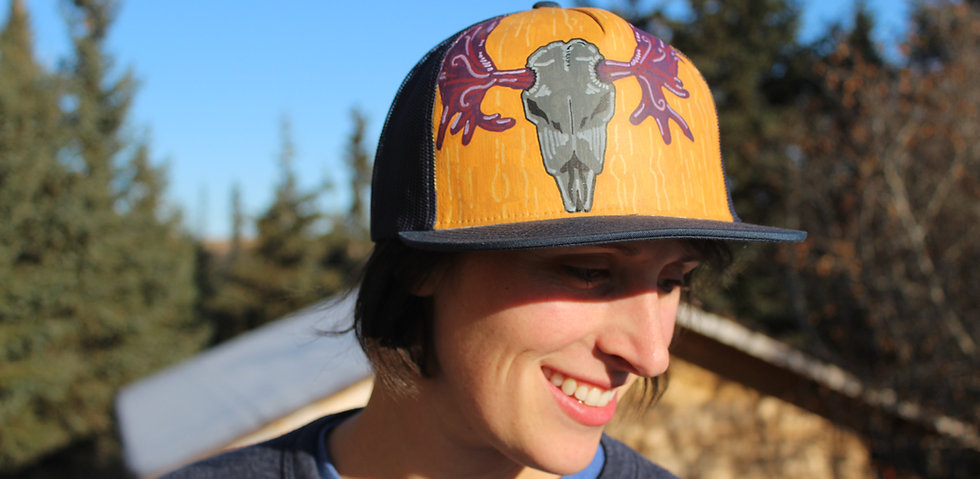 Custom Designed Hand-painted Hat