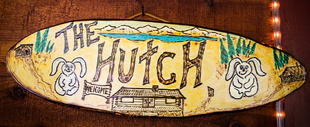 The Hutch Sign made by Rabbit