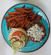 Our Bluecheese Burger