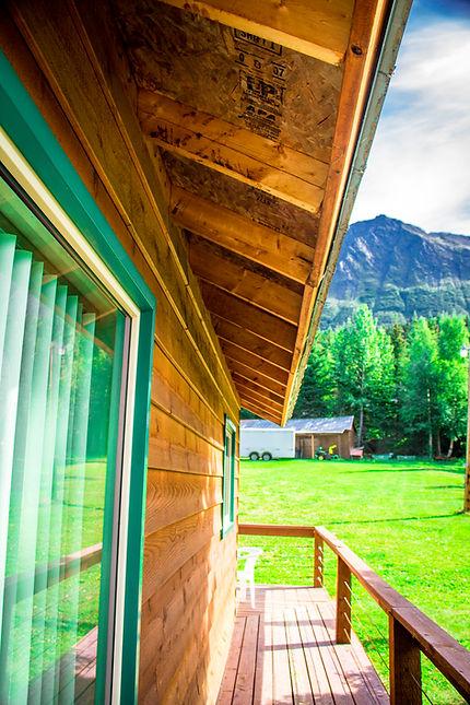 Hutch's Cabin Deck