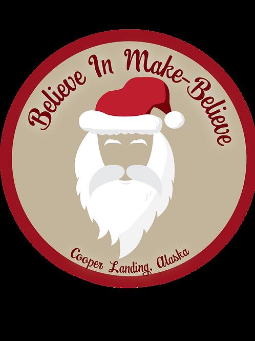 Believe In Make Believe Sticker