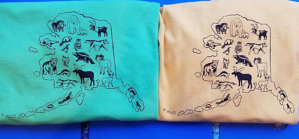 Alaska Wildlife T-shirts