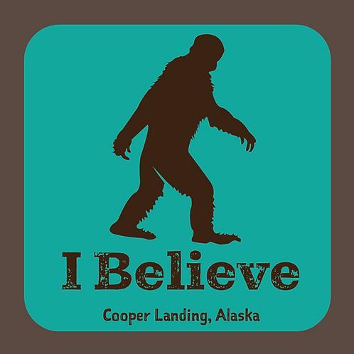 I Believe Sasquatch Sticker
