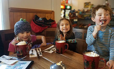 Hot Chocolate is must!