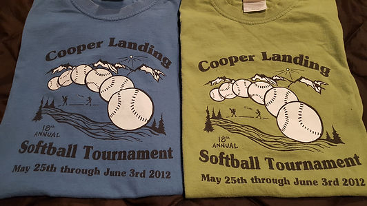 Custom Design for the Cooper Landing Softball Tournament