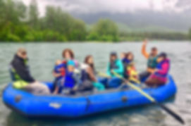 Rafting with Fish Camp